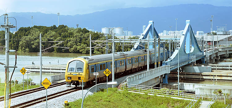 KTM Swing Bridge
